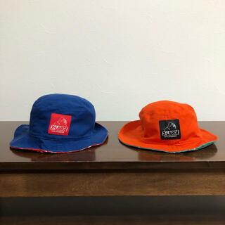エクストララージ(XLARGE)のXLARGE KIDS リバーシブルハット(帽子)