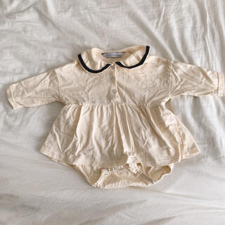 セーラー ロンパース 70cm 長袖