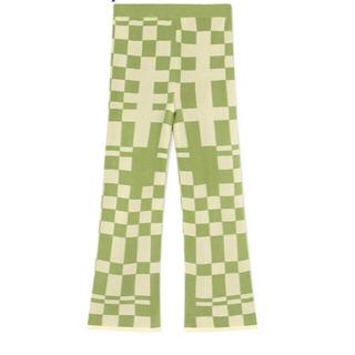 EDIT.FOR LULU -  paloma wool チェック柄ニットパンツ