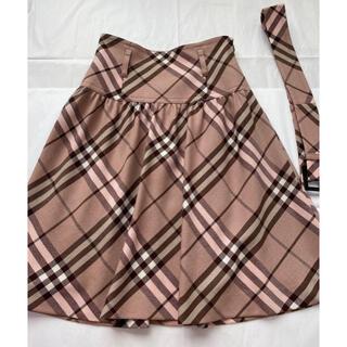 BURBERRY BLUE LABEL - バーバリーブルーレーベル◇スカート◇茶ピンク色◇サイズ