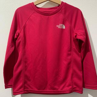 ザノースフェイス(THE NORTH FACE)の美品【ノースフェイス 速乾トップス 110cm】(Tシャツ/カットソー)