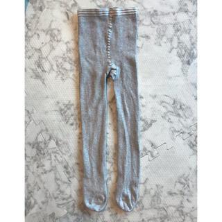 プチバトー(PETIT BATEAU)のPETIT BATEAU レギンスタイツ グレー 86cm(靴下/タイツ)