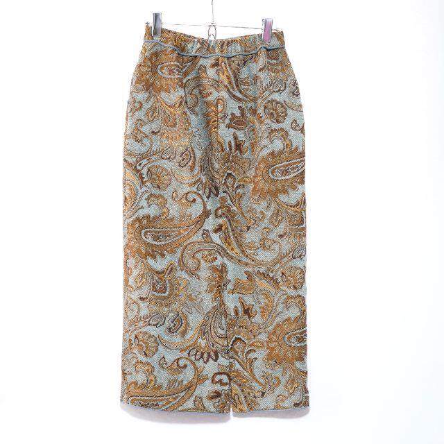 Ameri VINTAGE(アメリヴィンテージ)のAMERI PAISLEY RUG SKIRT Mサイズ レディースのスカート(ロングスカート)の商品写真