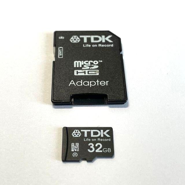 お得な9枚セット! TDK micro SDHCカード 32GB Class10 スマホ/家電/カメラのカメラ(その他)の商品写真
