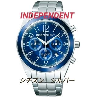 CITIZEN - INDEPENDENT 腕時計 シチズン シルバー