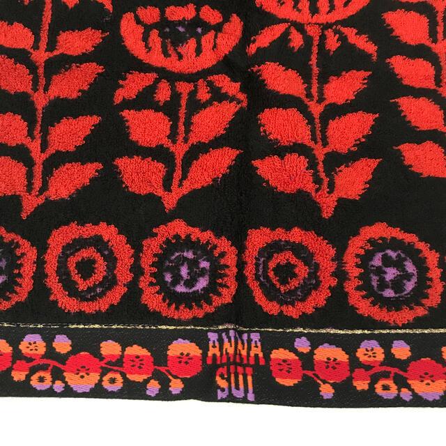 ANNA SUI(アナスイ)の新品✨アナスイ ウォッシュタオル✨ インテリア/住まい/日用品の日用品/生活雑貨/旅行(タオル/バス用品)の商品写真