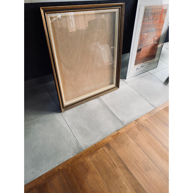 フランス アンティーク フレーム 額縁 オブジェ インテリア 木製 壁掛け ハンドメイドのインテリア/家具(インテリア雑貨)の商品写真