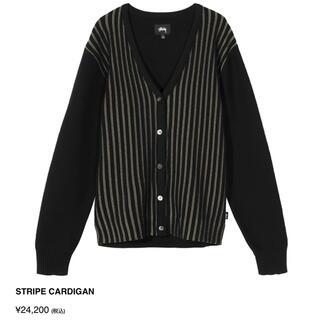 ステューシー(STUSSY)のSTUSSY Stripe Cardigan (カーディガン)