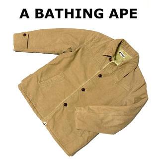 A BATHING APE - ◎ 流行りの ボアジャケット !! ◎ A Bathing Ape コーデュロイ