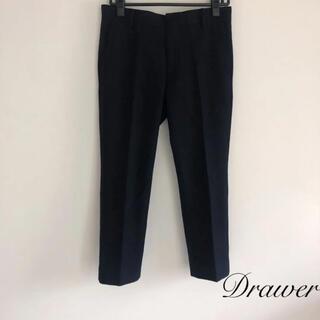 Drawer - Drawer ドゥロワー   ウールパンツ ブラック