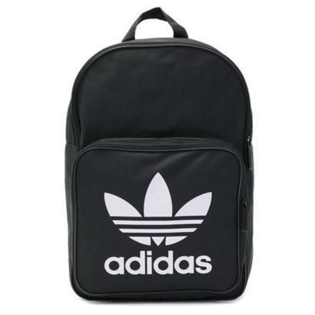 adidas(アディダス)の新品 正規品 adidas アディダス バックパック リュック ブラック色 メンズのバッグ(バッグパック/リュック)の商品写真
