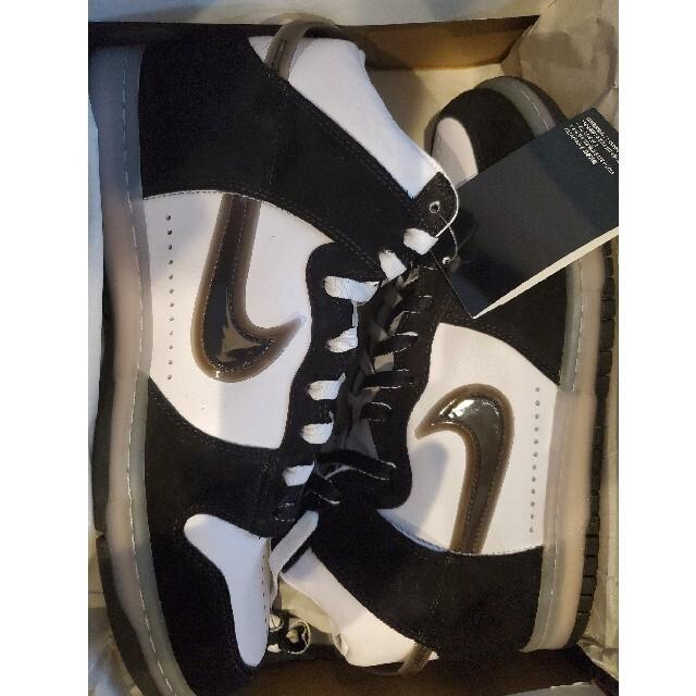NIKE(ナイキ)のSLAM JAM X NIKE DUNK HIGH CLEAR BLACK 29 メンズの靴/シューズ(スニーカー)の商品写真