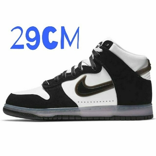 NIKE - SLAM JAM X NIKE DUNK HIGH CLEAR BLACK 29