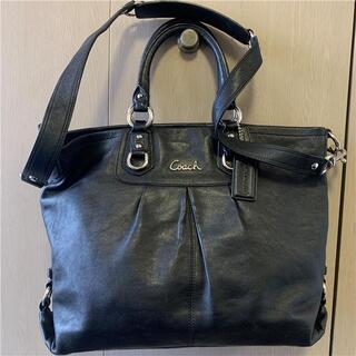 COACH - 綺麗 COACH 約6万 2way本革フルグレインレザーバッグ