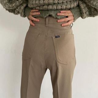 Lee×CLANE STA-PREST BOOTS CUT PANTS