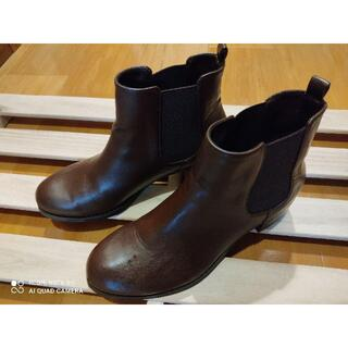 アーバンリサーチ(URBAN RESEARCH)のロデスコ HANNAH サイドゴアブーツ ダークブラウン 37(ブーツ)