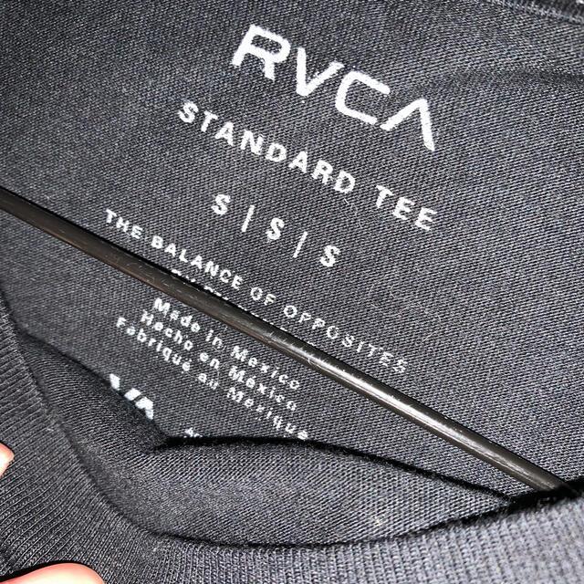 RVCA(ルーカ)の【最終値下げ】RVCA  ルーカ ロンT 黒 Sサイズ メンズのトップス(Tシャツ/カットソー(七分/長袖))の商品写真