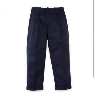 FRAGMENT - sequel SQ-20AW-PT07 TWO TUCK PANTS NAVY