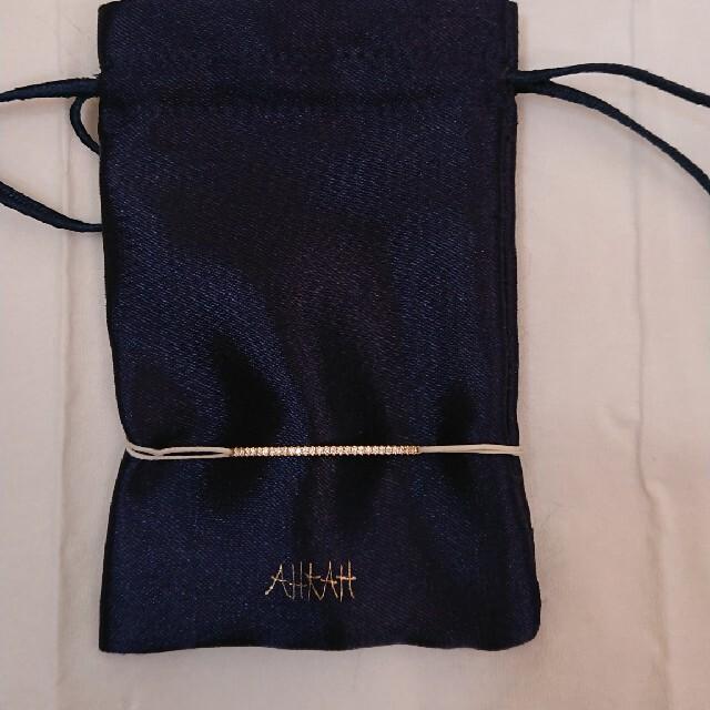 AHKAH(アーカー)のAHKAHアーカーコードブレスレット★ レディースのアクセサリー(ブレスレット/バングル)の商品写真