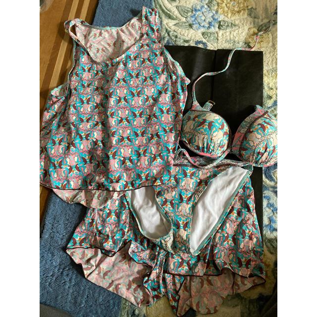水着 4点セット レディースの水着/浴衣(水着)の商品写真