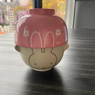 レア ミッフィー 茶碗 お椀 セット ピンク 子供用