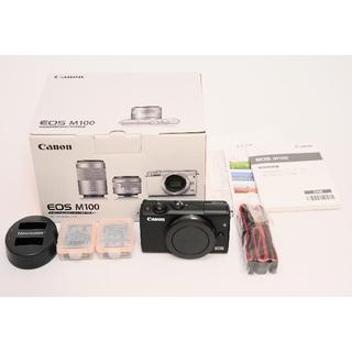 Canon - メーカー保証残あり CANON EOS M100 ブラック キャノン