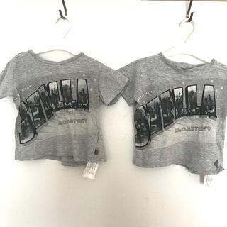 Stella McCartney - ステラマッカートニー  キッズ Tシャツ  3才 90〜100 双子ちゃんに