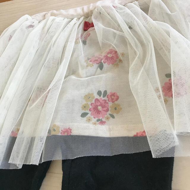 西松屋(ニシマツヤ)の女の子スカッツ 110 キッズ/ベビー/マタニティのキッズ服女の子用(90cm~)(スカート)の商品写真