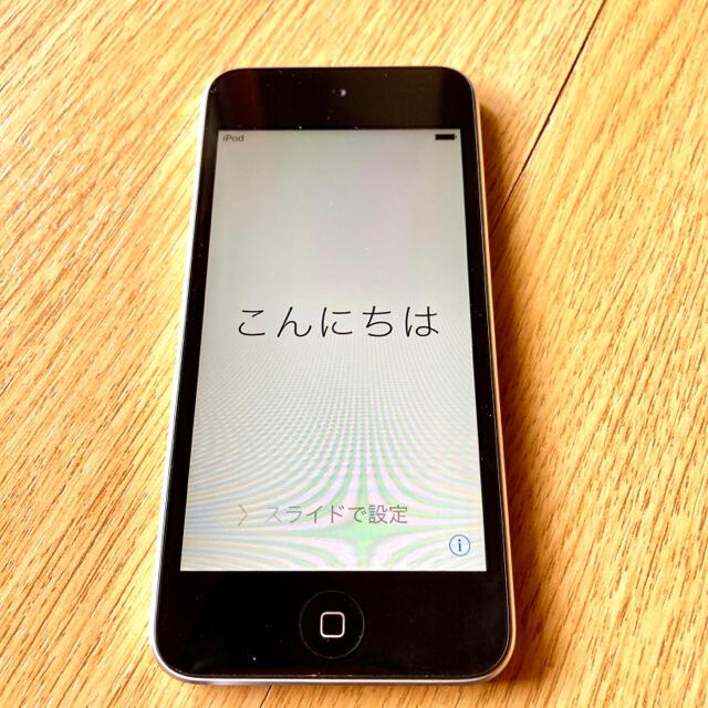 Apple(アップル)のiPod touch ME643J/A 16GB ブラック/シルバー 値下げ スマホ/家電/カメラのオーディオ機器(ポータブルプレーヤー)の商品写真