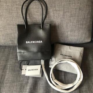 バレンシアガバッグ(BALENCIAGA BAG)の新品 BALENCIAGA ショッピング ノース サウス トートバッグ XXS(ショルダーバッグ)