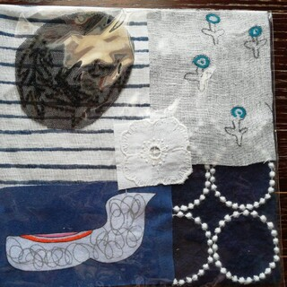 mina perhonen - ⭐ミナペルホネン 水鳥のハギレセット tanpopo 送料込み❕