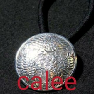 CALEE - CALEE  BIG ORIENTAL CONCHO SILVER製 コンチョ