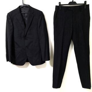 コムサイズム(COMME CA ISM)のコムサイズム シングルスーツ サイズS - 黒(セットアップ)