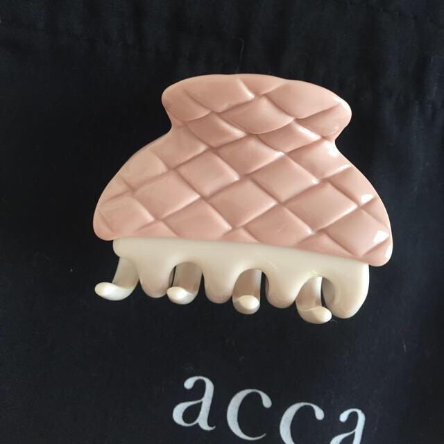 acca(アッカ)の acca アッカ 2020aw 新作 レトロビアンキ クリップ グランデ レディースのヘアアクセサリー(バレッタ/ヘアクリップ)の商品写真