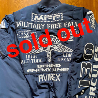 sold out ‼️ AVIREX MA-1   アウター