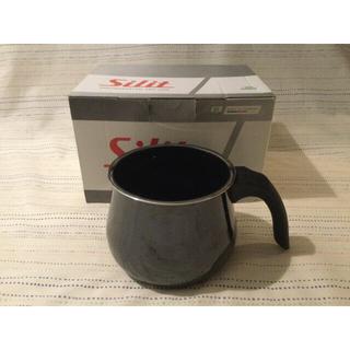 ヴェーエムエフ(WMF)のSilit シラルガン ミルクポット 14cm 1.7L 黒(鍋/フライパン)
