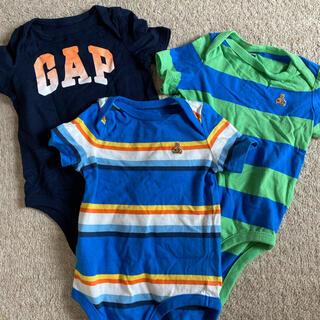 ベビーギャップ(babyGAP)のbaby GAP ロンパース 3点セット(ロンパース)