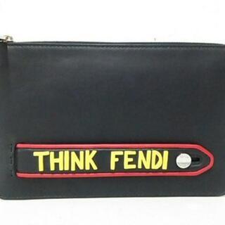 フェンディ(FENDI)のフェンディ クラッチバッグ美品  - 7VA350(クラッチバッグ)