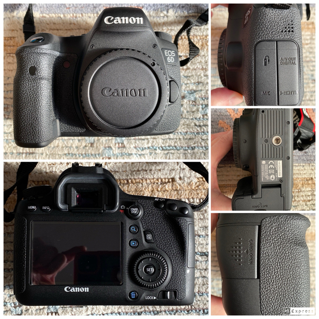 Canon(キヤノン)のCanon EOS6D EF24-105 F4L IS USM セット スマホ/家電/カメラのカメラ(デジタル一眼)の商品写真
