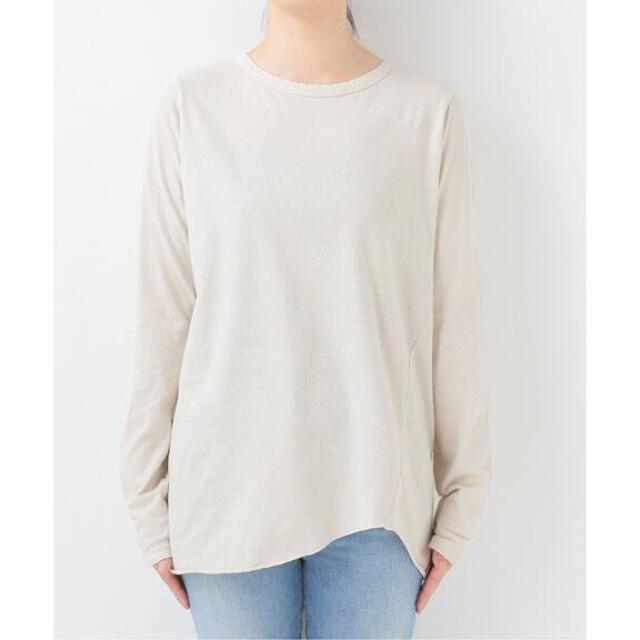DEUXIEME CLASSE(ドゥーズィエムクラス)の【BY様専用】Layering Tシャツ   ナチュラル レディースのトップス(カットソー(長袖/七分))の商品写真