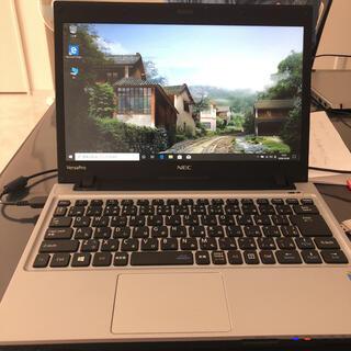 エヌイーシー(NEC)のNEC VersaPro 13.3型ノートパソコン i3-四代(ノートPC)