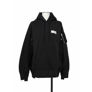 sacai - Nike x sacai Hoodie パーカー ブラック XS