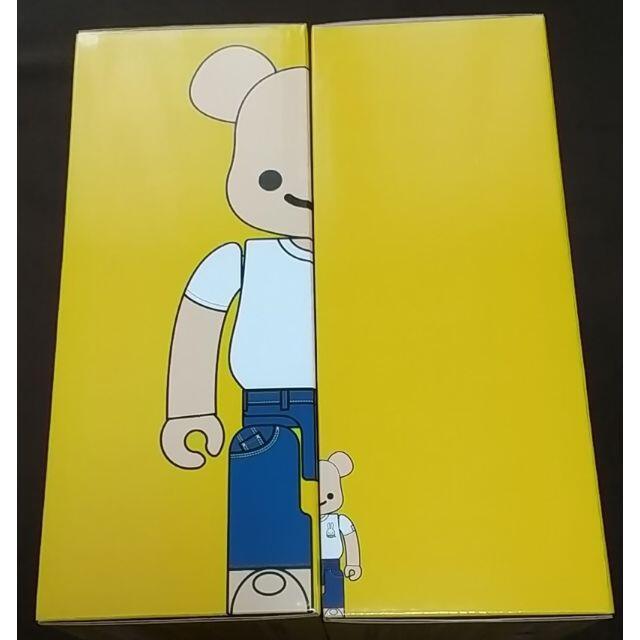 MEDICOM TOY(メディコムトイ)の【2個セット】CUNE BE@RBRICK 100% & 400% エンタメ/ホビーのおもちゃ/ぬいぐるみ(ぬいぐるみ)の商品写真