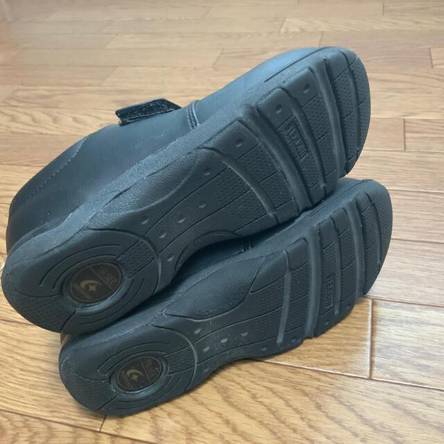 MOONSTAR (ムーンスター)のムーンスター シューズ 靴 黒 19.5 キッズ/ベビー/マタニティのキッズ靴/シューズ(15cm~)(フォーマルシューズ)の商品写真