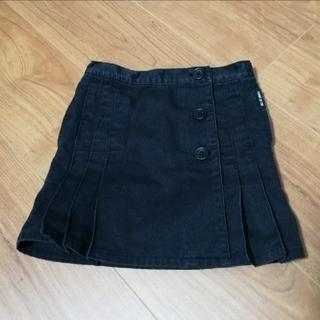コムサイズム(COMME CA ISM)のCOMME CA ISM 巻 スカート ブラック 100 (スカート)