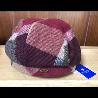 バーバリーブルーレーベル(BURBERRY BLUE LABEL)の⭐️新品未使用タグ付き⭐️ブルーレーベルクレストブリッジ⭐️ベレー帽(ハンチング/ベレー帽)