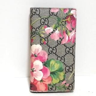 グッチ(Gucci)のグッチ 携帯電話ケース GGブルームス(モバイルケース/カバー)