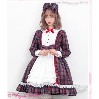Angelic Pretty - Campas Girl OP&カチューシャ グリーン アンジェリックプリティ