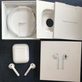 Apple - AirPods 第ニ世代 ケースカバー付