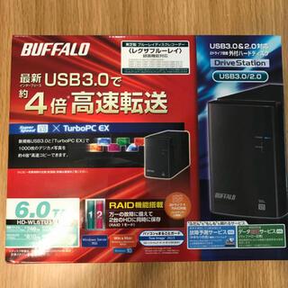 Buffalo - buffalo ハードディスク6TB  HD-WL6TU3/R1J 新品未使用